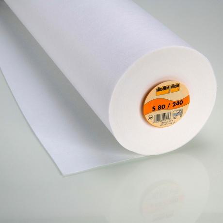 Entoilage vlieseline 30cm blanc