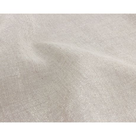 Tissu lurex argenté
