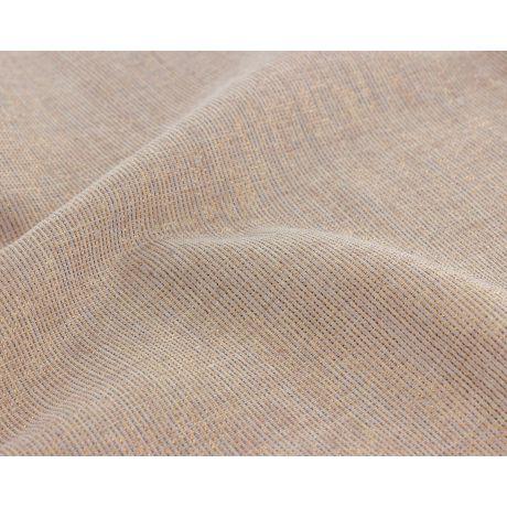 Tissu lurex cuivré